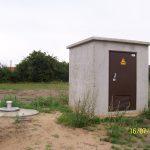 Gebäude zur Aufnahme der Schaltanlage